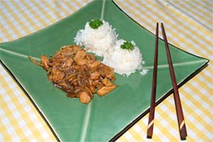 Two-onion pork